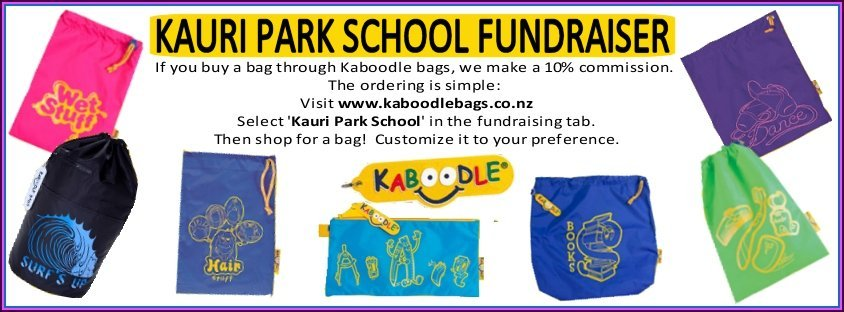 Kauri Park School - Fundraising flyer